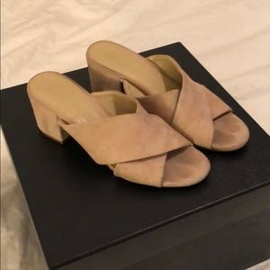 Marc Fisher suede sandals size 7.5